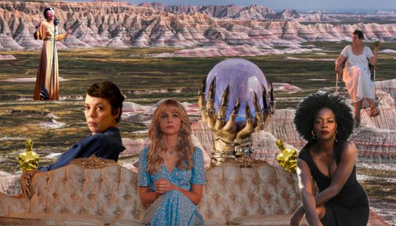 kolaž prikazuje glumice nominirane za oscara